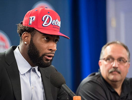 Andre Drummond signed a five-year, $150 million contract