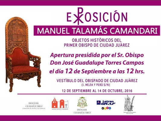 Juarez Diocese exhibit