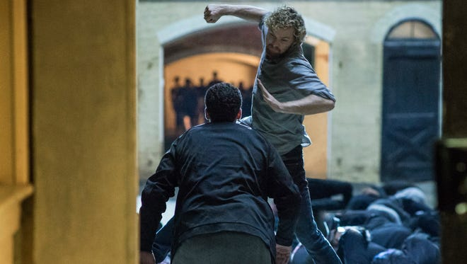 "Finn Jones stars in Netflix's ""Marvel's Iron Fist."""