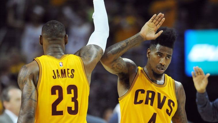 Cavs beat Hawks in four games.