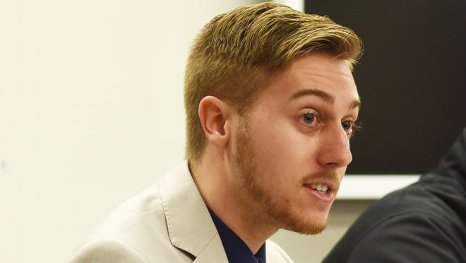 The ongoing lawsuit originated after Jason Schaumleffel, a former student at Muskingum University and a current board member at Tri-Valley Local Schools, sued the university, Neal and two women who had accused him of sexual misconduct.