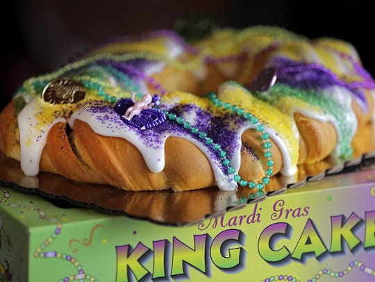 Manderfield's Home Bakery is one of many area bakeries that makes King Cakes and paczki. Mardi Gras/Fat Tuesday is this Tuesday.