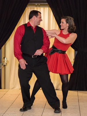 Judd and Bethany Davis of WSFA –TV were among the local personalities raising funds during Dancing with Celebrities.