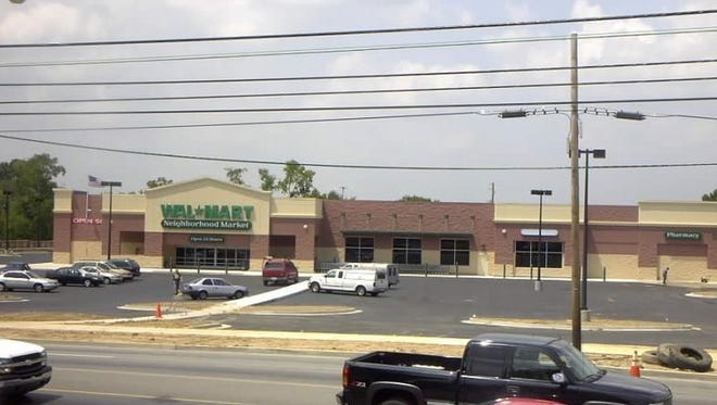 The Wal-Mart Neighborhood Market in East Nashville was sold for $5 million.