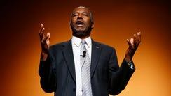 Ben Carson announces his candidacy for president during