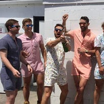 Dear men, Please stop wearing those ridiculous rompers