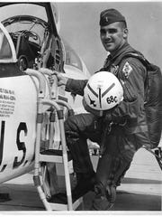 U.S. Air Force pilot David T. Dinan III, of Nutley, killed in the Vietnam War, was laid to rest on April 25, 2018, in Arlington National Cemetery.