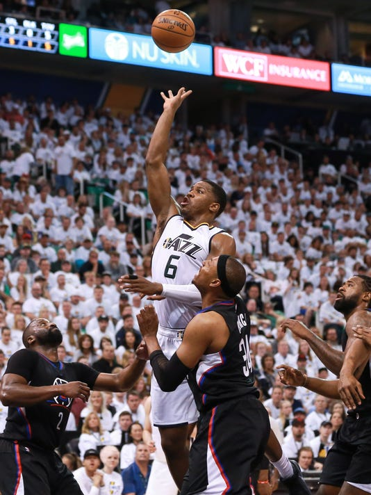 NBA: Playoffs-Los Angeles Clippers at Utah Jazz