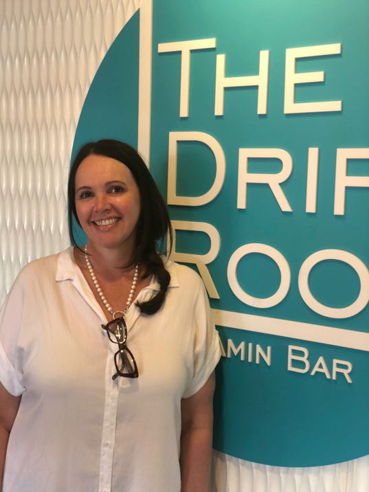 The Drip Room gives customers vitamin IV drips in Scottsdale