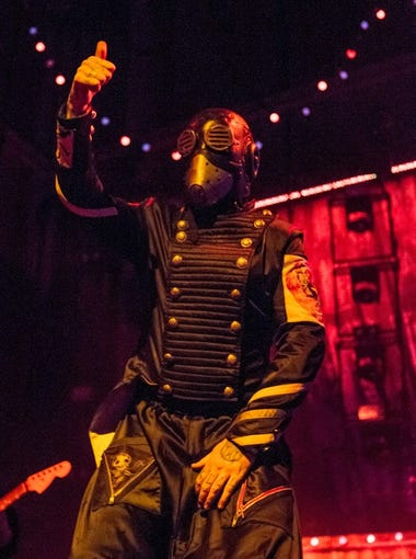 Slipknot performs at Ak-Chin Pavilion on Saturday, Aug. 29, 2015 in Phoenix.