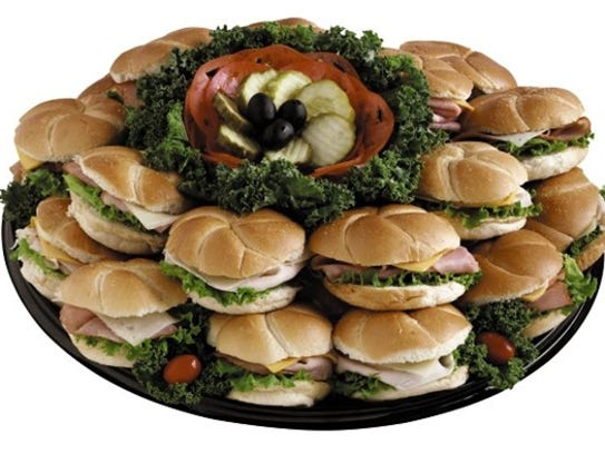 Prepared by ACME's deli department, sandwich, hoagie