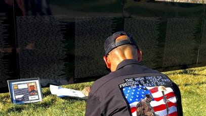 The Wall That Heals, a replica of the Vietnam Veteran's Memorial in Washington, D.C., will be in San Angelo Nov. 16-19.