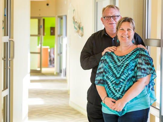 Jim and Kim Provo opened My Salon Suite on Kirkwood Highway near Prices Corner.