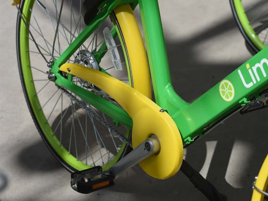 Four lime bikes were found on fire overnight in Ithaca.