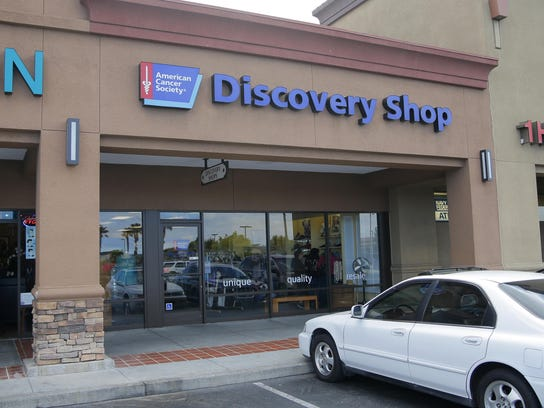 American Cancer Society's Discovery Shop in Salinas opened in 1979.