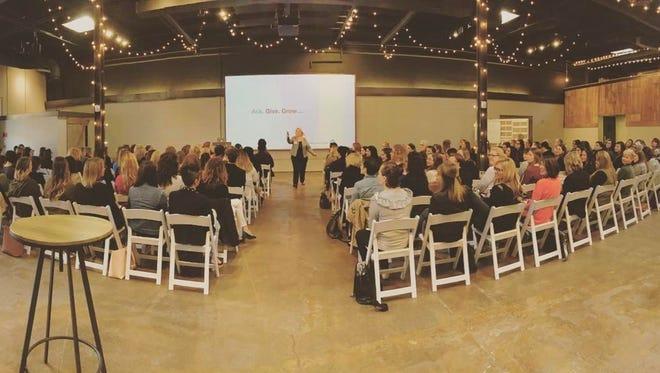 A Women in Digital event in Columbus.