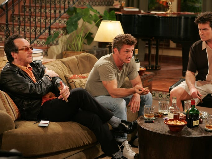 many stars have made appearances on two and a half men