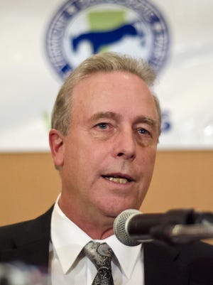Vermont State Auditor Doug Hoffer, pictured in 2012.