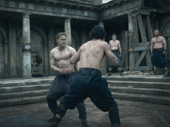 Charlie Hunnam took his training seriously for 'King