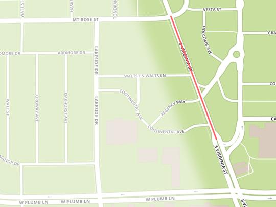 Mt Rose Street to Wells Avenue