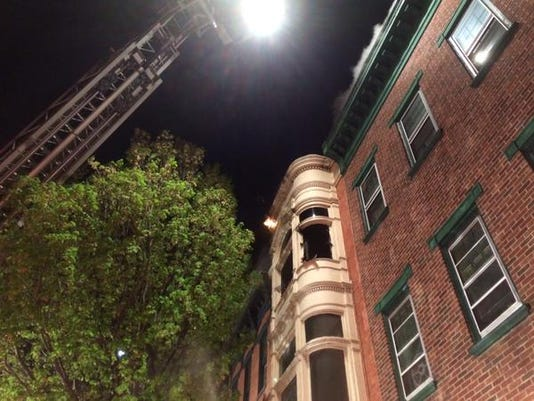 Crews battled the early morning fire at 60 S. Beaver St.