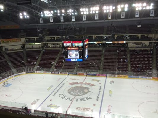 The Bears will host the Hartford Wolf Pack at 7 p.m. tonight in Game 1. Hartford hasn't visited Hershey since Nov. 9.