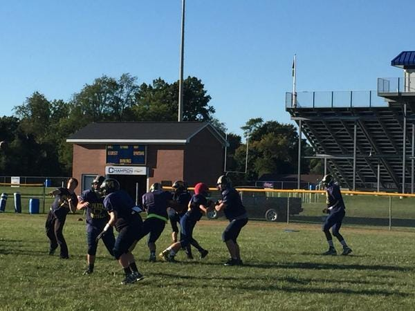 The Webberville Spartans are looking to muscle through the toughest part of their schedule in 2015.