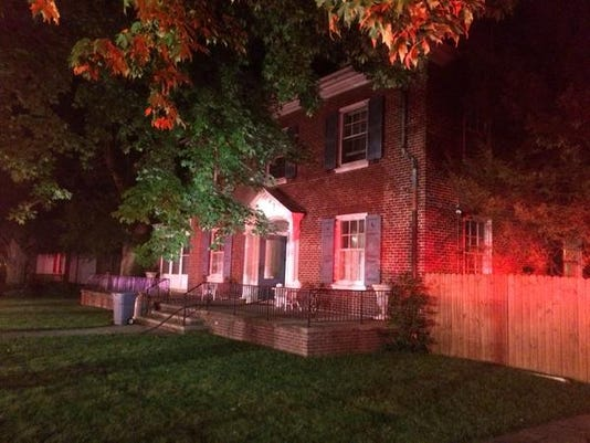 Firefighters were called to a home on East Springettsbury Avenue in York early Friday morning.