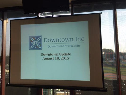 Downtown Inc. is holding an update meeting at Santander Stadium.