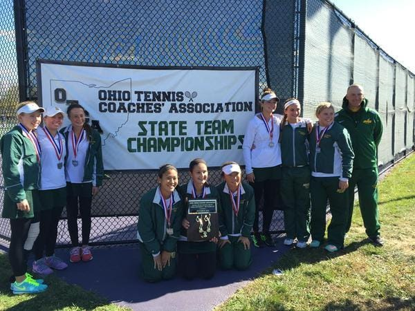 Sycamore's girls tennis team made the Division I final four of the Ohio Coaches Tennis Association tournament. The Lady Aves finished as runners-up to Dublin Jerome.