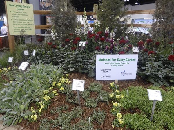 Mulches For Every Garden At Colorado Garden And Home Show 2014  Photo By Cha