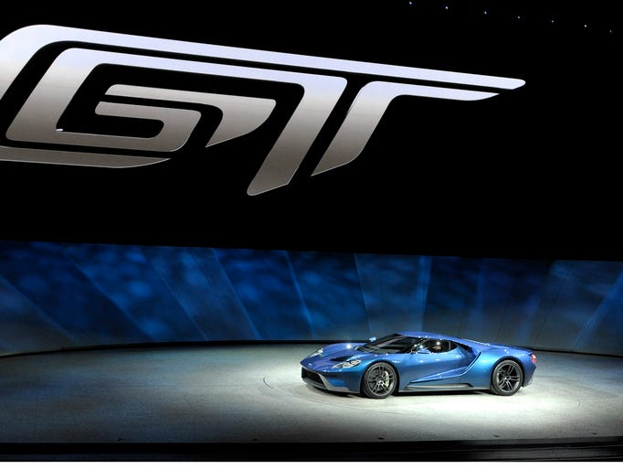 Ford Motor Company unveiled an all-new GT supercar