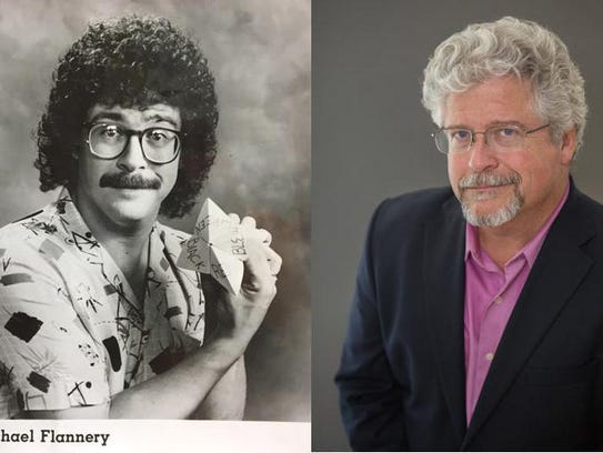 Michael Flannery: then and now