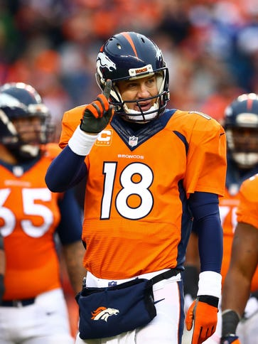 Peyton Manning will get some time to rest during training