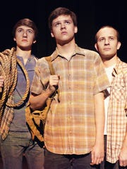 Left to right: Michael Hawes, Brant Fife, Aaron Crosby