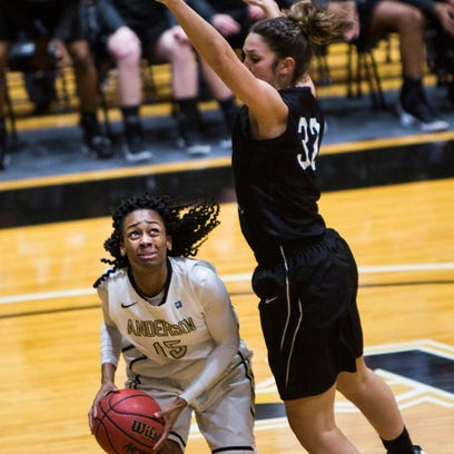 Anderson University women drop first road game