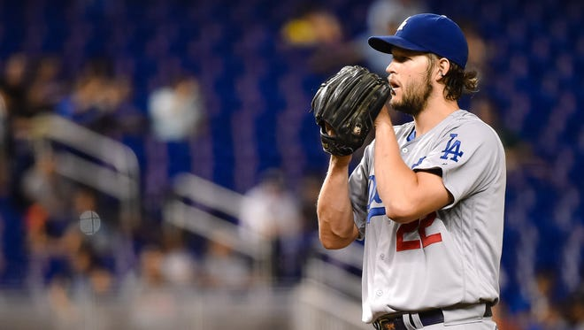 Clayton Kershaw struck out five and allowed just one hit in his second start back from injury.