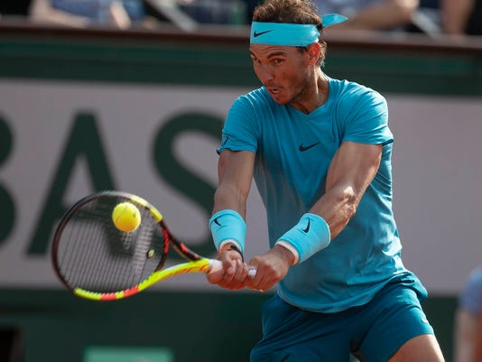 USP TENNIS: FRENCH OPEN S TEN FRA [E