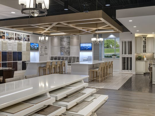 Luxury home builder Toll Brothers has a fully staffed and outfitted Design Studio for the exclusive use of their customers.