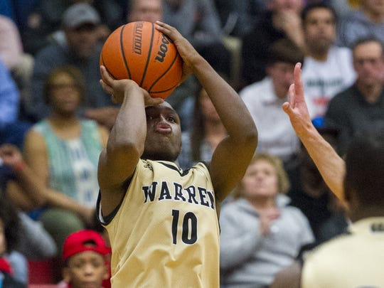 Dean Tate's hot-shooting helped Warren Central knock off New Albany.