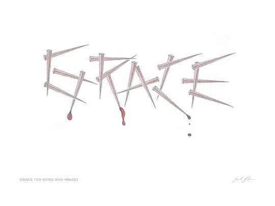 """Grace,"" artwork created by Erik Blom."