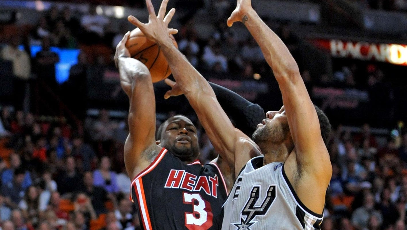 2014 NBA Finals preview, schedule: San Antonio Spurs vs. Miami Heat