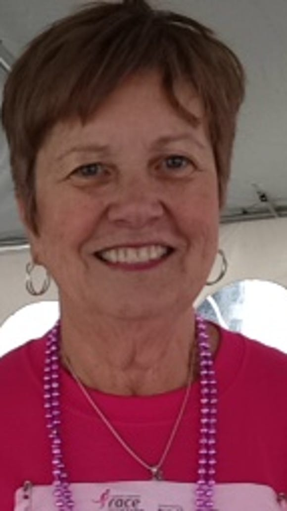 Carolyn Edwards, a two-year breast cancer survivor