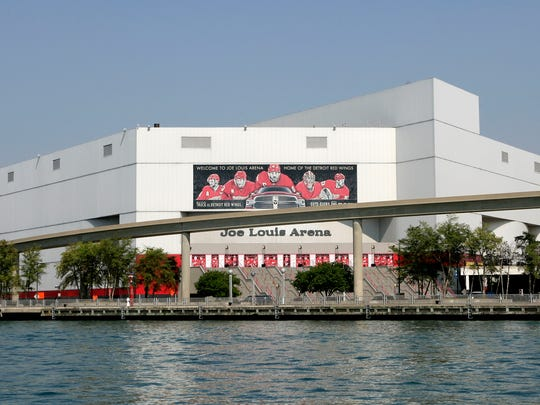 Joe Louis Arena was No. 3 on Uber's list of late-night metro Detroit destinations.