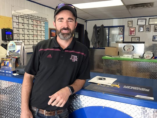 Clayton Berryman, owner of Tinley Tee Tire, has partnered