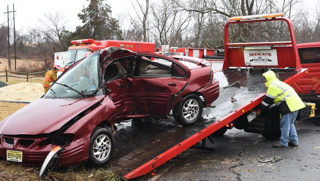 An 18-year-old Oxford woman was killed after crashing into a tree on Pequest Road in the Township early Tuesday morning, according to police.