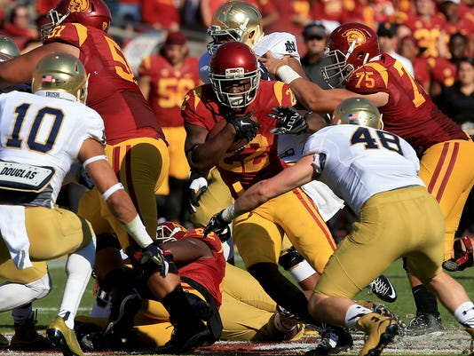 Notre Dame at Southern California