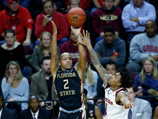 NCAA Basketball: Florida State at Rutgers