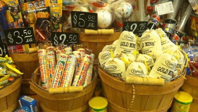 """Actors and friends Paul Rudd and Jeffrey Dean Morgan purchased a much-loved candy store, now called """"Samuel's Sweet Shop."""""""