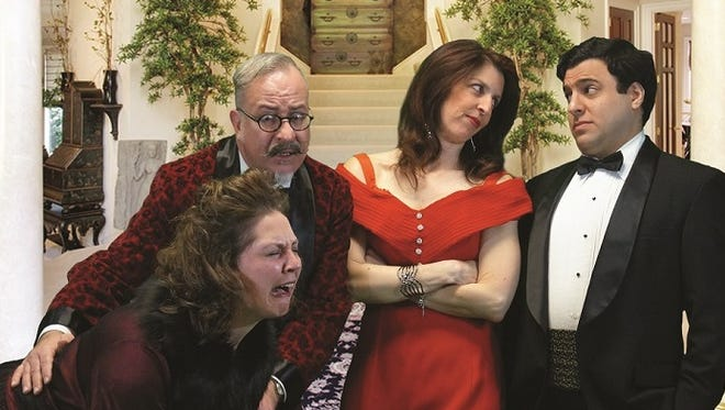'Rumors,' directed by Todd R. Bennington and produced by Crystal Coddington, will be staged at the Somerset Valley Players Theatre.